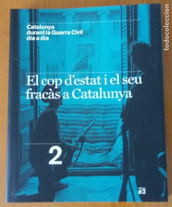 Libros de segunda mano: LOTE DE 17 TOMOS - CATALUNYA DURANT LA GUERRA CIVIL DIA A DIA - CATALÀ - Foto 4 - 277833703