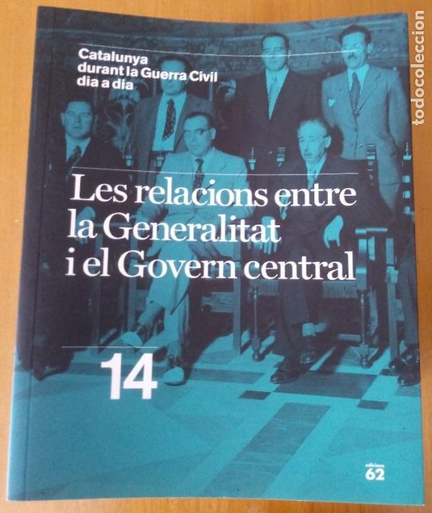 Libros de segunda mano: LOTE DE 17 TOMOS - CATALUNYA DURANT LA GUERRA CIVIL DIA A DIA - CATALÀ - Foto 16 - 277833703