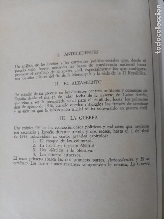 Libros de segunda mano: LOTE DE 5 TOMOS - CRÓNICA DE LA GUERRA ESPAÑOLA - NO APTA PARA IRRECONCILIABLES - Foto 7 - 277834803
