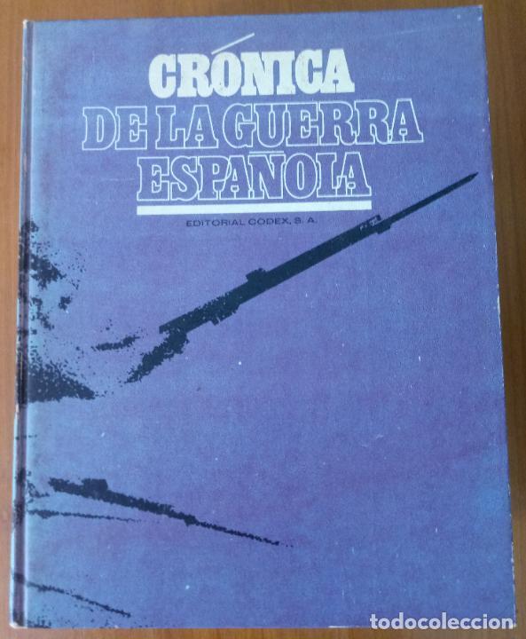Libros de segunda mano: LOTE DE 5 TOMOS - CRÓNICA DE LA GUERRA ESPAÑOLA - NO APTA PARA IRRECONCILIABLES - Foto 10 - 277834803