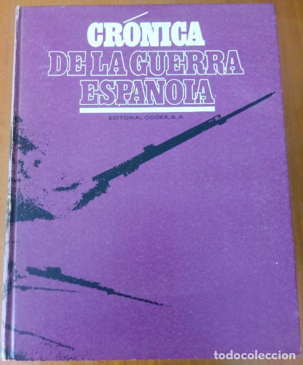 Libros de segunda mano: LOTE DE 5 TOMOS - CRÓNICA DE LA GUERRA ESPAÑOLA - NO APTA PARA IRRECONCILIABLES - Foto 12 - 277834803