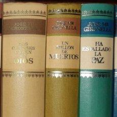 Libros de segunda mano: TRILOGÍA SOBRE LA GUERRA CIVIL. JOSÉ MARÍA GIRONELLA. Lote 277849133