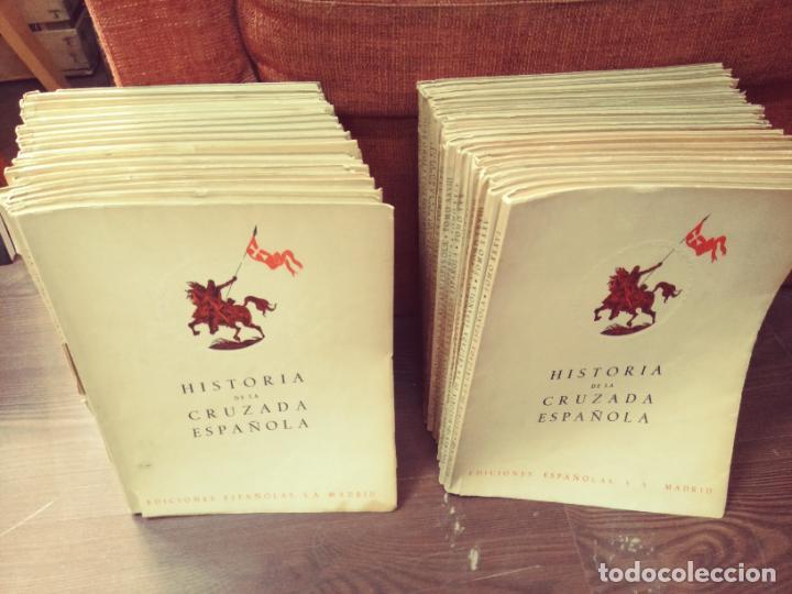 HISTORIA DE LA CRUZADA ESPAÑOLA (36 TOMOS) (COMPLETA) (EDICIONES ESPAÑOLAS, 1940-44) (Libros de Segunda Mano - Historia - Guerra Civil Española)