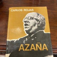 Libros de segunda mano: LIBRO AZAÑA. Lote 284229058
