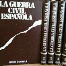 Libros de segunda mano: ENCICLOPEDIA DE LA GUERRA CIVIL ESPAÑOLA, COMPLETA 6 TOMOS. HUGH THOMAS, EDITORIAL EDICIONES URBIÓN. Lote 287216018