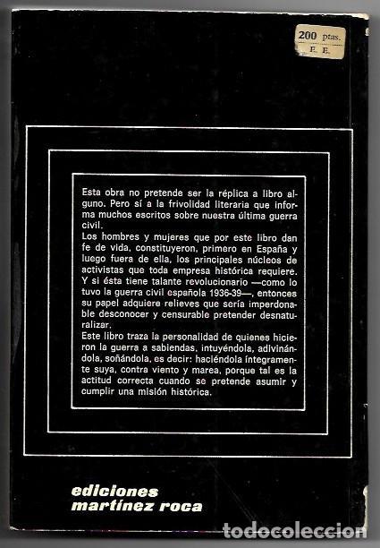 Libros de segunda mano: Eduardo Pons Prades . Los que sí hicimos la guerra - Foto 2 - 287973413
