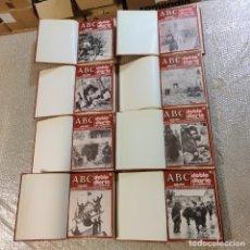 Libros de segunda mano: COLECCIÓN DOBLE DIARIO DE LA GUERRA CIVIL ESPAÑOLA. DIARIO ABC. 8 TOMOS. PRENSA ESPAÑOLA. VALOR:250€. Lote 288145633