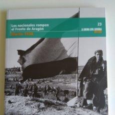 Libros de segunda mano: LA GUERRA CIVIL ESPAÑOLA MES A MES N°23. Lote 288727748