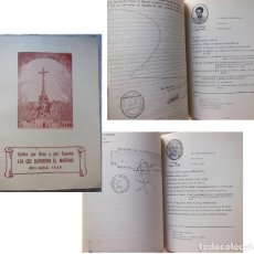 Libros de segunda mano: LOS QUE SUFRIERON EL MARTIRIO. CAIDOS POR DIOS Y POR ESPAÑA (MELIANA 1936 ) 1987. Lote 289714068