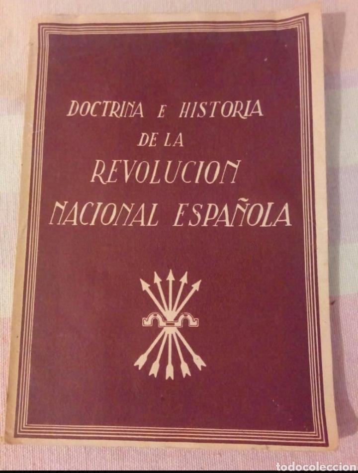 DOCTRINA E HISTORIA DE LA REVOLUCIÓN ESPAÑOLA (Libros de Segunda Mano - Historia - Guerra Civil Española)