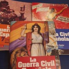 Libros de segunda mano: LA GUERRA CIVIL ESPAÑOLA 12 LIBROS+ 12 DVDS. Lote 295872483