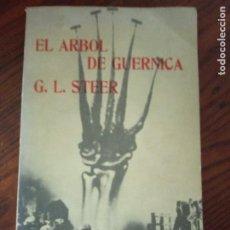 Libros de segunda mano: EL ÁRBOL DE GUERNICA.- G. L. STEER.. Lote 295989743