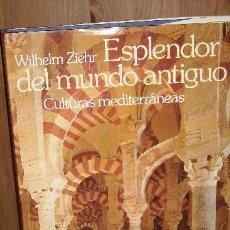 Libros de segunda mano: ESPLENDOR DEL MUNDO ANTIGUO POR WILHELM ZIEHR DE ED. MUNDO ACTUAL EN BARCELONA 1978. Lote 26559988