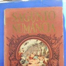 Libros de segunda mano: SERIE HEROES Y GESTAS N. 1 SAGUNTO Y NUMANCIA EDITORIAL DALMAU CARLES. Lote 24328317