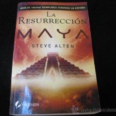 Libros de segunda mano: LA RESURECCIÓN MAYA - ALTEN, STEVEN, MARTÍN SANZ, M. CRISTINA - VIA MAGNA 2009 PERFECTO + INFO HISTO. Lote 18072094