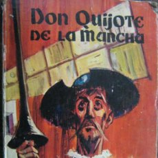 Libros de segunda mano: LIBRO DON QUIJOTE DE LA MANCHA MIGUEL DE CERVANTES 1965 DIBUJOS ILUSTRACIONES DE MANUEL HUETE . Lote 18207488