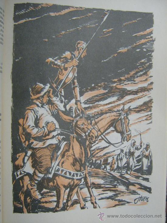 Libros de segunda mano: libro don quijote de la mancha miguel de cervantes 1965 dibujos ilustraciones de manuel huete - Foto 4 - 18207488