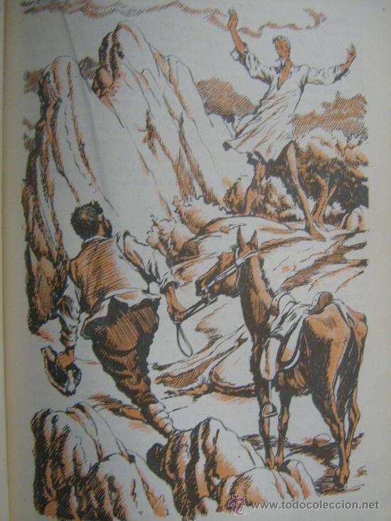 Libros de segunda mano: libro don quijote de la mancha miguel de cervantes 1965 dibujos ilustraciones de manuel huete - Foto 5 - 18207488