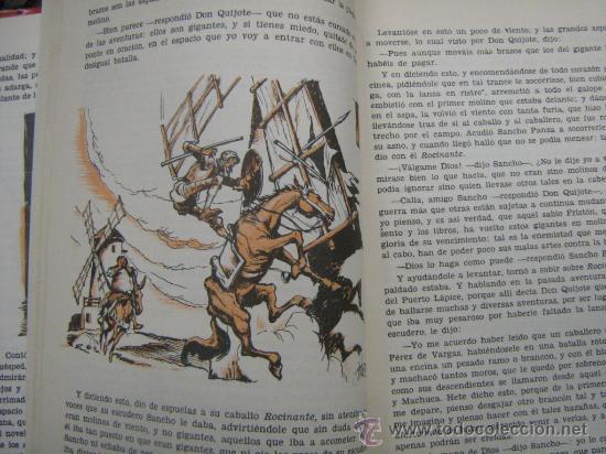 Libros de segunda mano: libro don quijote de la mancha miguel de cervantes 1965 dibujos ilustraciones de manuel huete - Foto 6 - 18207488