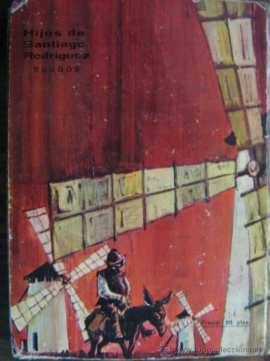 Libros de segunda mano: libro don quijote de la mancha miguel de cervantes 1965 dibujos ilustraciones de manuel huete - Foto 7 - 18207488