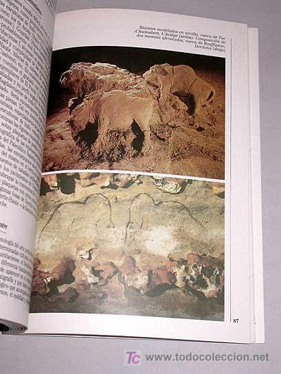 Libros de segunda mano: Historias del viejo mundo, número 3. Alfonso Moure Romanillo. EL HOMBRE PALEOLÍTICO. ARTE RUPESTRE - Foto 3 - 25192102