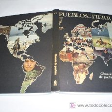Libros de segunda mano: PUEBLOS DE LA TIERRA GLOSARIO DE PUEBLOS SIR EDWARD EVANS-PRITCHARD BURULAN 1974 RM45406. Lote 21702800