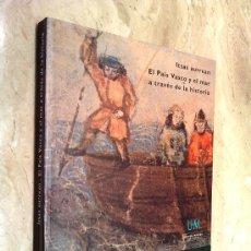 Libros de segunda mano: LIBRO DEL PAIS BASKO - PAIS VASCO, SOBRE EL MAR ETC. NUEVO, PESO 1250 GR. MEDIDAS 27,5 X 24 CM.. Lote 26018544