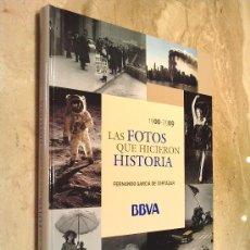 Libros de segunda mano: LIBRO DE, LAS FOTOS QUE HICIERON HISTORIA, A NIVEL MUNDIAL, 1900 - 2009, PESO 1400 GR. TAMAÑO 24X31.. Lote 26313536