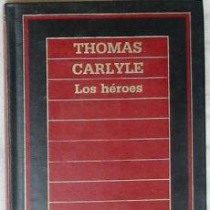 Libros de segunda mano: LOS HÉROES - BIBLIOTECA DE HISTORIA ORBIS - 1985 - 300 PÁGINAS - VER ÍNDICE. Lote 26717634