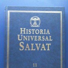Libros de segunda mano: HISTORIA UNIVERSAL SALVAT - TOMO 11 - ASIA MEDIEVAL. LA ERA DE LOS DESCUBRIMIENTOS - 1999. Lote 23868264