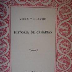 Libros de segunda mano - HISTORIA DE CANARIAS.VIERA Y CLAVIJO.ED GOYA.1950-52.4 PARTES EN 3 TOMOS - 26875146