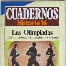 Libros de segunda mano: IÑI CUADERNOS DE HISTORIA 16. LAS OLIMPIADAS. NÚMERO 106. BOOK. LOTE ÉPSILON.. Lote 25313868