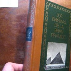 Libros de segunda mano: LOS ENIGMAS DE LA GRAN PIRAMIDE, AZIZ (. Lote 43194011