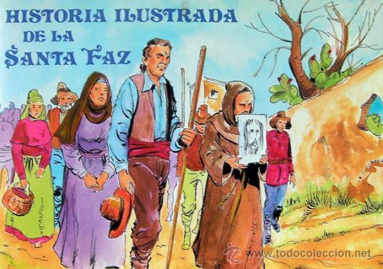 ALICANTE, LIBRO HISTORIA ILUSTRADA DE LA SANTA FAZ, AÑO 1989, VER FOTO ADICIONAL (Libros de Segunda Mano - Historia Antigua)