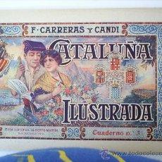Libros de segunda mano: CATALUÑA ILUSTRADA CUADERNO 3 - PALLARS - F. CARRERAS Y CANDI - ORIGINAL. Lote 26706269
