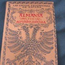 Libros de segunda mano: ALMANSA - LAS LUCHAS FRATICIDAS EN ESPAÑA - ESPASA 1954.. Lote 26928123