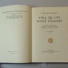 Libros de segunda mano - Vida de los doce cesares. volumen I ((autor: C. Suetonio Tranquilo) - 27961831