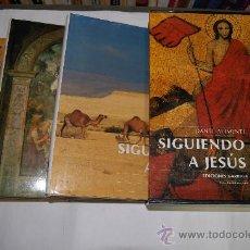 Libros de segunda mano: SIGUIENDO A JESÚS. TRES TOMOS. DANTE ALIMENTI. RM54481. Lote 28891815