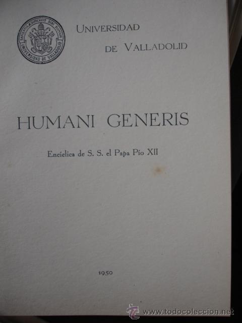 ENCYKLIKA HUMAN I GENERIS EPUB