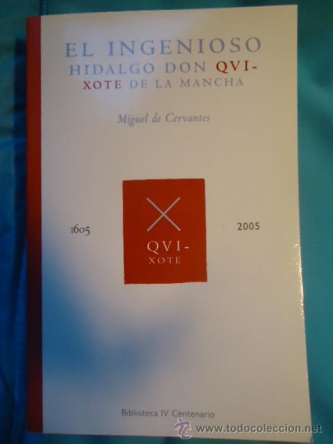 EL INGENIOSO HIDALGO DON QUIJOTE DE LA MANCHA (MIGUEL DE CERVANTES) (Libros de Segunda Mano - Historia Antigua)