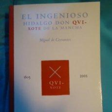 Libros de segunda mano: EL INGENIOSO HIDALGO DON QUIJOTE DE LA MANCHA (MIGUEL DE CERVANTES). Lote 29076306