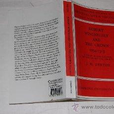 Libros de segunda mano: ROBERT WINCHELSEY AND THE CROWN 1294-1313 J. H. DENTON PX28100. Lote 29455740