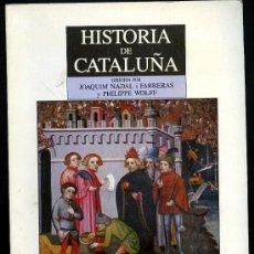 Libros de segunda mano: HISTORIA DE CATALUÑA. Lote 29722882