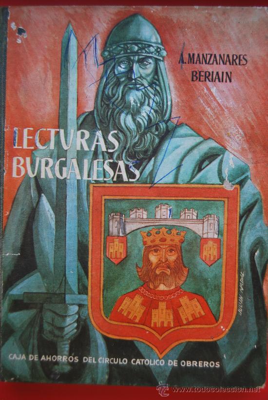LECTURAS BURGALESAS AÑO 1961 (Libros de Segunda Mano - Historia Antigua)