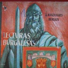 Libros de segunda mano: LECTURAS BURGALESAS AÑO 1961. Lote 29797244