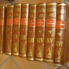 Libros de segunda mano: GALICIA HISTORIA 8 TOMOS SERIE COMPLETA, PROYECTO GALICIA - HÉRCULES DE EDICIONES, 1999 + INFO. Lote 29960281