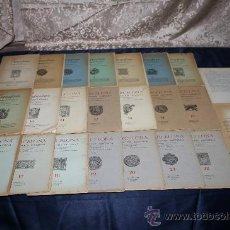 Libros de segunda mano: 1963- 'BARCELONA - DIVULGACIÓN HISTÓRICA' 22 FASCÍCULOS ED. AYMA DIR. DURÁN Y SANPERE BARCELONA. Lote 30094615
