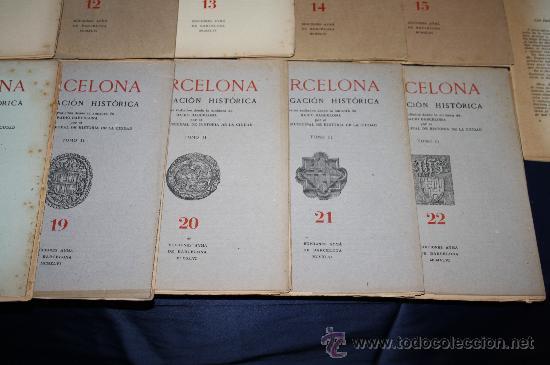 Libros de segunda mano: 1963- 'BARCELONA - DIVULGACIÓN HISTÓRICA' 22 FASCÍCULOS ED. AYMA DIR. DURÁN Y SANPERE BARCELONA - Foto 5 - 30094615