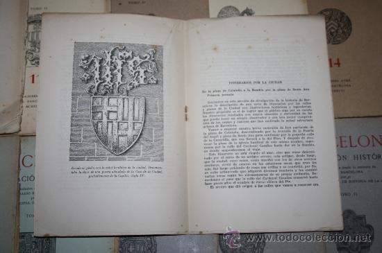 Libros de segunda mano: 1963- 'BARCELONA - DIVULGACIÓN HISTÓRICA' 22 FASCÍCULOS ED. AYMA DIR. DURÁN Y SANPERE BARCELONA - Foto 8 - 30094615