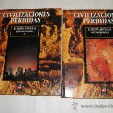 Libros de segunda mano: EUROPA ANTIGUA. MISTERIOS EN PIEDRA. PRIMERA Y SEGUNDA PARTE. DOS TOMOS.VV.AA. RM56443. Lote 30304412
